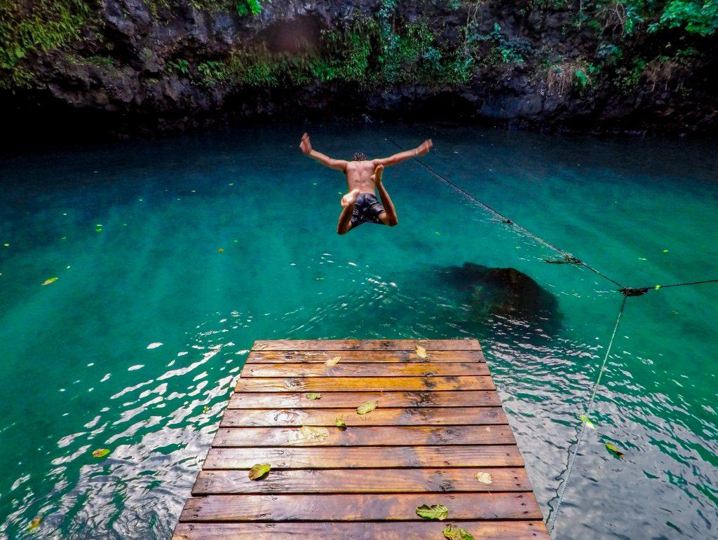 ethan elisara 9VRlK7lu1Ck unsplash Swimmer Jump